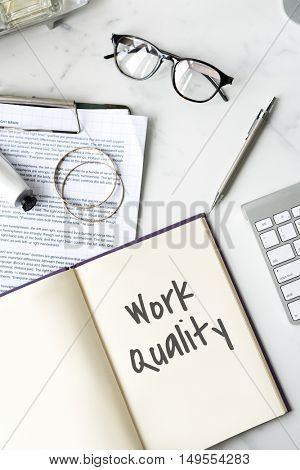 Work Quality Smarter Excellent Concept