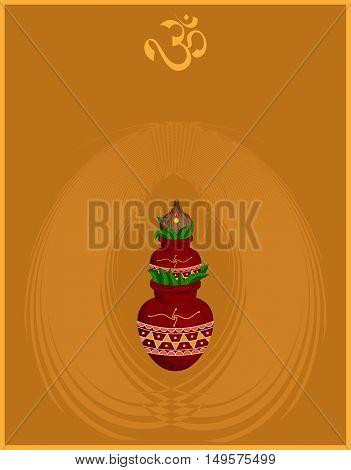 Divine Mangal Kalash With Coconut