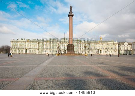 Winterpalast / Eremitage, St. Petersburg, Russland