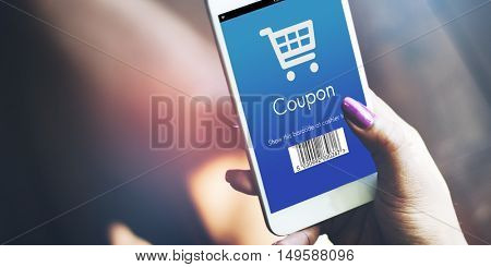 Coupon Purchase Order Discount Concept