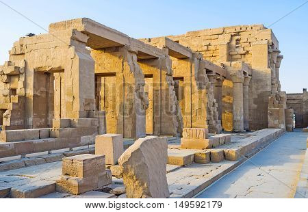 The Kom Ombo Temple is one of the most famous and unique landmarks of Upper Egypt.