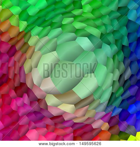 Abstract coloring background of the pastels gradient with visual lighting, pinch and pinch effects.Good for your project design