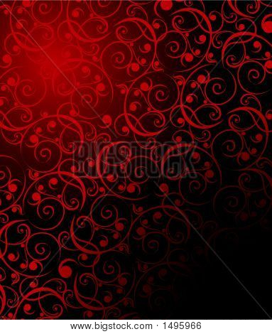 Floral texture. Vector illustration. Can be used for different purposes poster