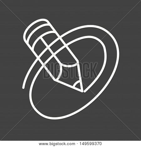 Ipad, communication, online icon vector image. Can also be used for social media logos. Suitable for mobile apps, web apps and print media.