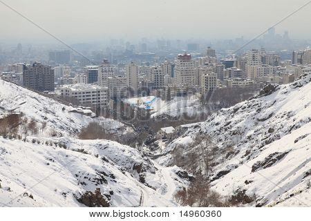 Northern area of Tehran