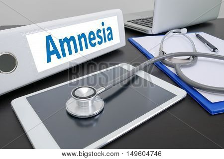 Amnesia Doctor work hard and Doctor medical