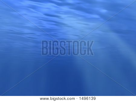 Highly Realistic Texture Of Water