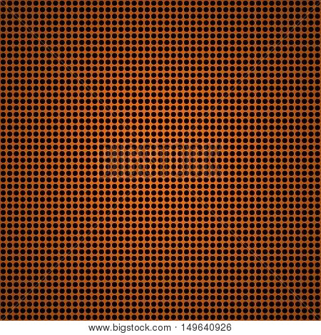 Orange Metal Texture Stainless Steel Background