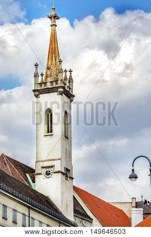 Augustinian Church (Augustinerkirche ) in Vienna is a parish church located on Josefsplatz next to the Hofburg (1339). Austria.