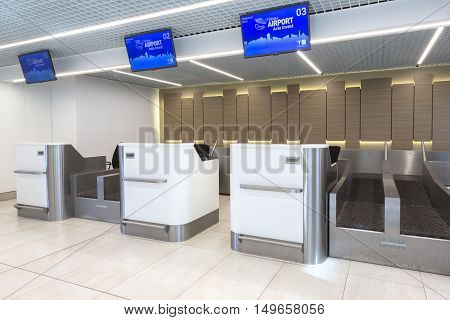 Passenger Check-in Area