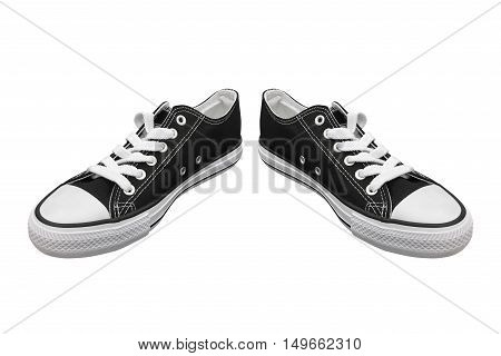 image of sneakers isolated on white background