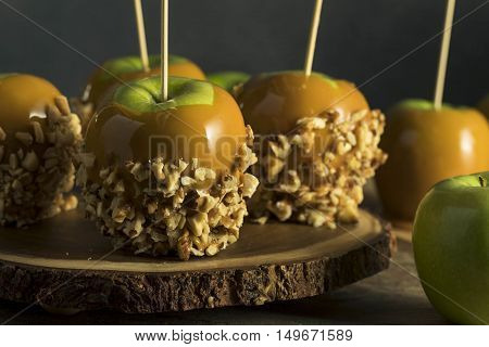 Homemade Organic Candy Taffy Apples