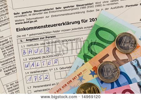 Austrian income tax return