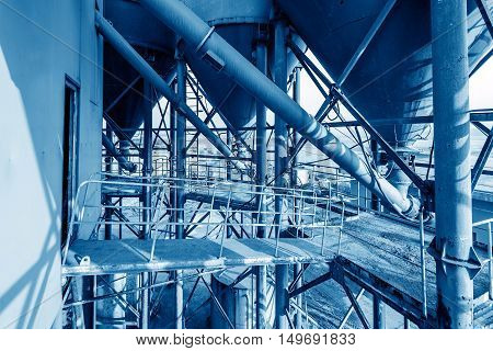 Features of blast furnace pipe production equipment in cement plant