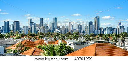 A view of the Melbourne skyline / cityscape, Australia