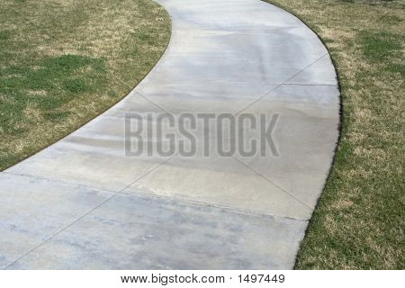 Path Through Grass