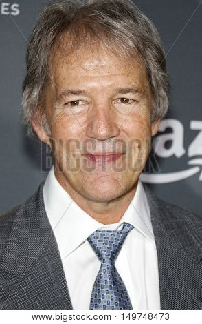 David E. Kelley at the Los Angeles premiere of Amazon's 'Goliath' held at the London Hotel in West Hollywood, USA on September 29, 2016.