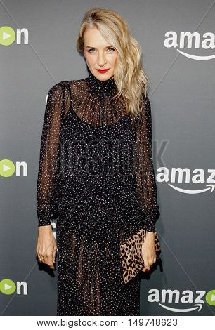Ever Carradine at the Los Angeles premiere of Amazon's 'Goliath' held at the London Hotel in West Hollywood, USA on September 29, 2016.
