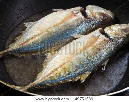 Twin Sea fish frying in a Pan