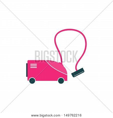 Vacuum cleaner Icon Vector. Flat simple color pictogram