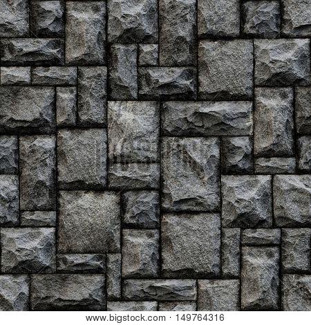 Seamless stone pattern.