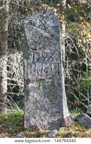 Border stone