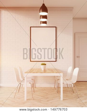 Modern Dining Room In Apartment