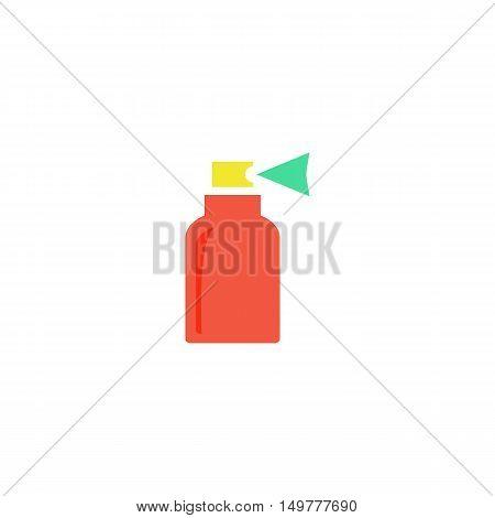 Sprayer Icon Vector. Flat simple color pictogram