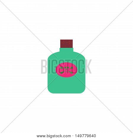 Poison Icon Vector. Flat simple color pictogram