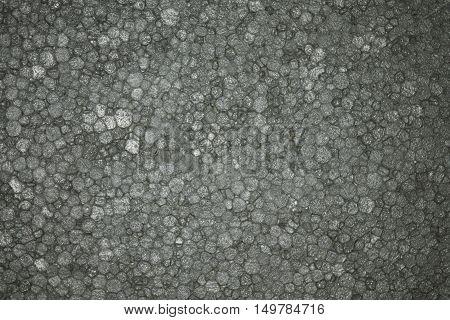 Styrofoam Background Texture closeup detail light grey