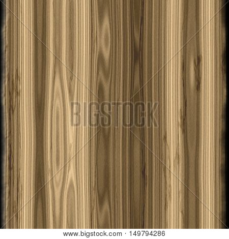 Digitally rendered seamless wood texture with vertically threads