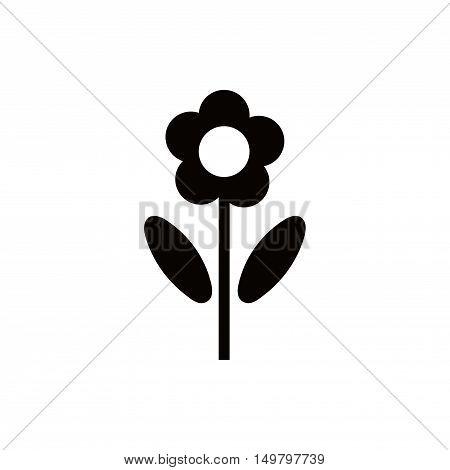 flower icon stock vector illustration flat design