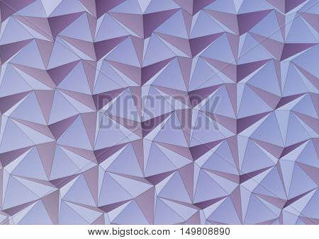 Sculpture surface. Geometric abstract background for poster or cover