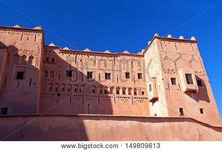 Kasbah Taourirt In Eastern Ouarzazate, Morocco