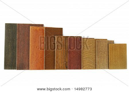 wood color and texture sample
