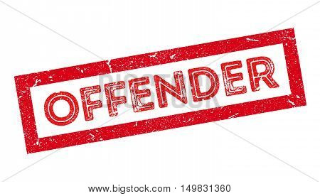 Offender Rubber Stamp