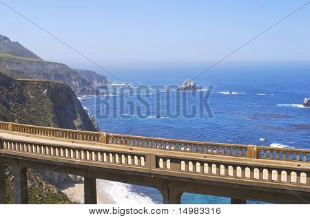 Bixby Bridge Carmel California