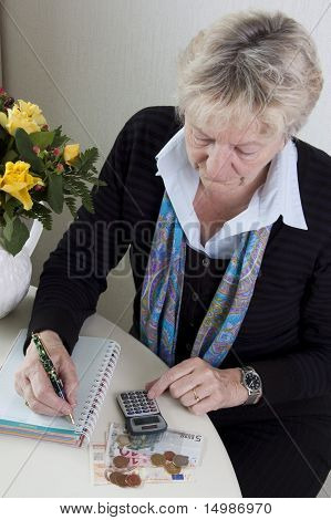 Doing the budget calculations