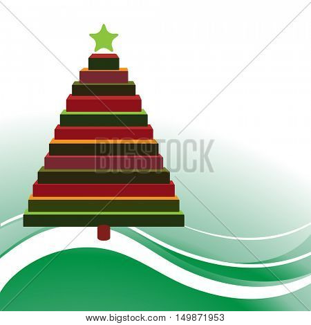 Block Christmas Tree