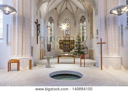 Inside Famous St. Petri - Pauli Church In Eisleben