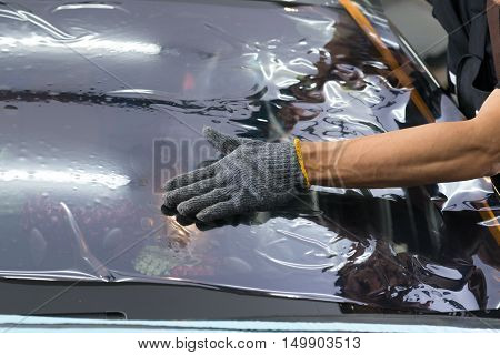Car window tinting series : Installing car window tint