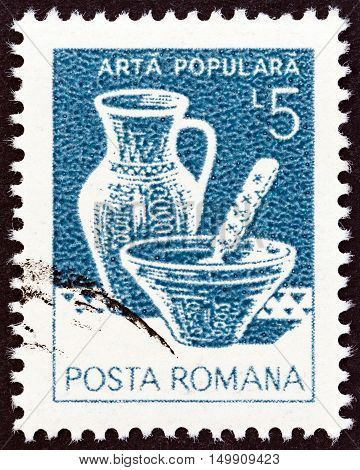 ROMANIA - CIRCA 1982: A stamp printed in Romania from the