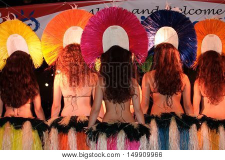 Stock image of polynesia culture dance festival and arts