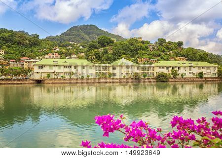 Over water nice and cozy precedential aria in Victoria capital Mahe island Seychelles