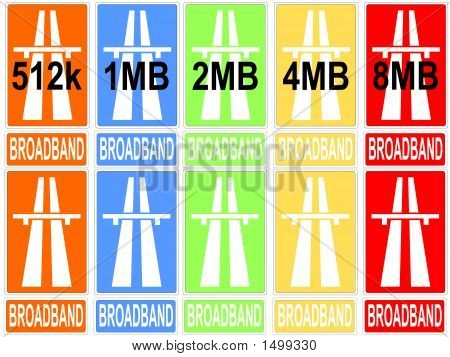 Colorful Download Speeds