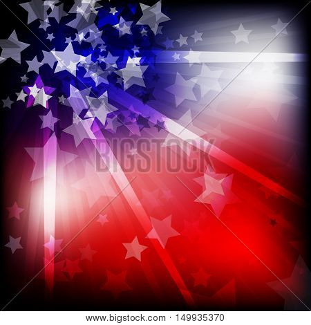 abstract independence day graphic for decoration in holiday
