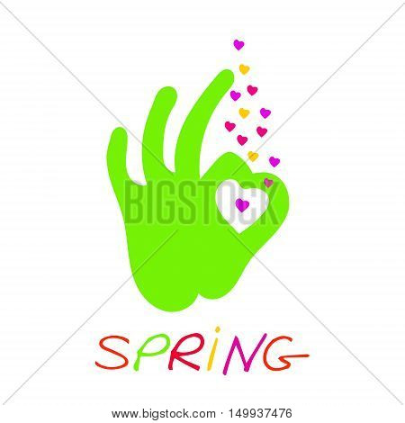 Spring. Spring Wallpapers spring vector spring designs spring the text inscription spring spring core spring art