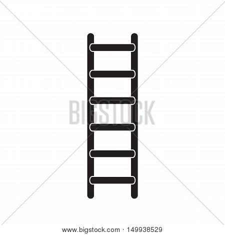 ladder icon, ladder on white background. ladder sign