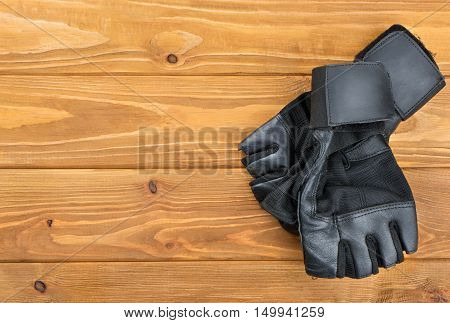 Fitness Gloves On Table