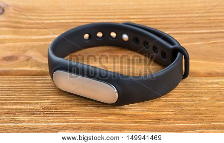 Fitness Bracelet On Table